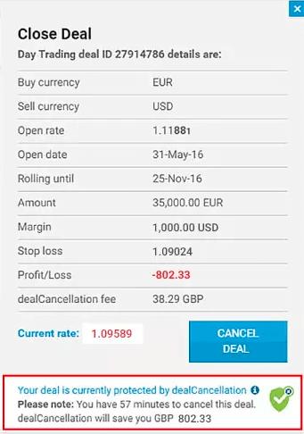 easyMarkets dealCancellation Close Deals